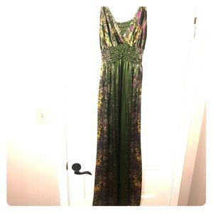 Gorgeous Green Maxi Dress